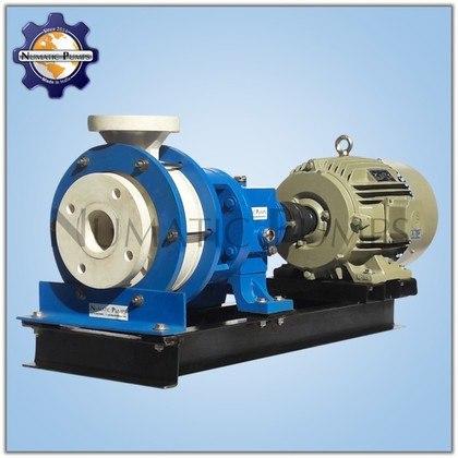 PFA Teflon Centrifugal Horizontal Coupled Pump Manufacturers