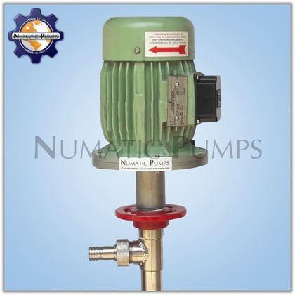 SS 316 Motorised High Viscosity Screw Barrel Drum Pump