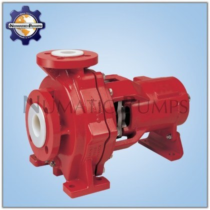PFA Lined Centrifugal Pump Manufacturers India
